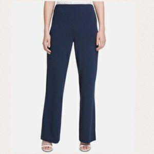 3/$30 DKNY Wide Leg Dress Pants/Slacks Navy Blue 2